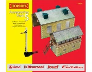 Hornby R8231 Building Accessories Pack 5